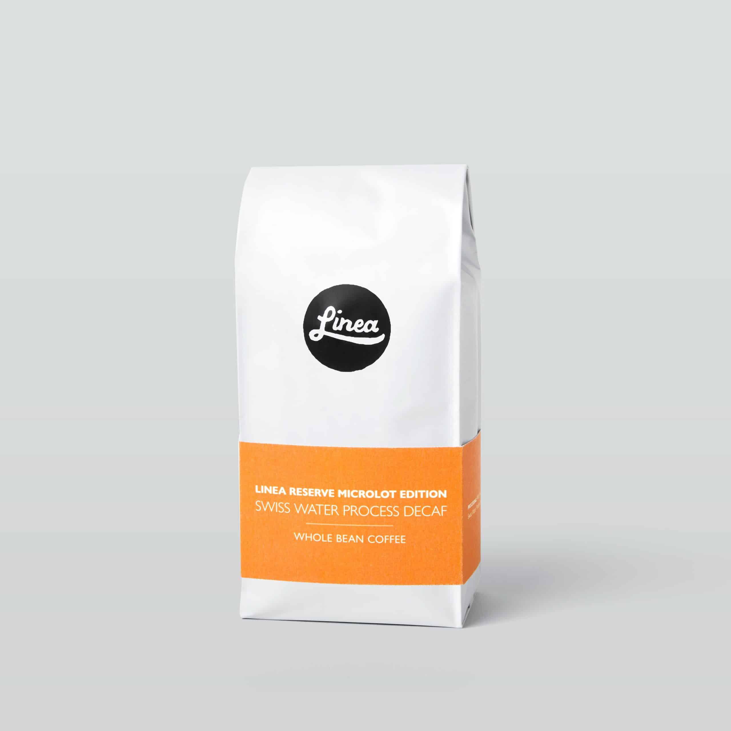 Linea Coffee Swiss Water Process Decaf Coffee