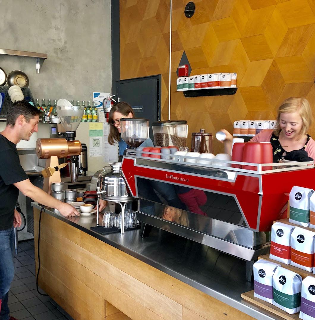 Linea Caffe baristas