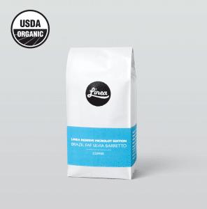 Brazil Silvia's Reserve bag with UDSA Organic label